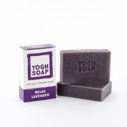 Natürliche Joghurtseif | Entspannender Lavendel | Violett