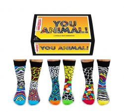 Chausettes You Animal | Set de 6