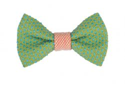 Yumi Bow Tie | Green-Pink