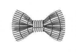 Yumi Bow Tie | Silver