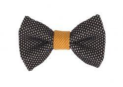 Yumi Bow Tie | Black-Yellow