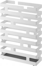 Umbrella Stand Rectangle Brick | White