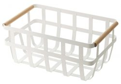 Storage Basket 2 Handles Tosca | White
