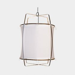 Hanging Lamp Z1 Black | Cotton Cover
