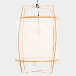 Pendant Lamp Z2 Blonde | Silk White Cover