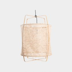 Hanging Lamp Z2 Blonde | Paper Natural Cover