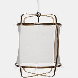 Hanging Lamp Z5 Black | Cotton Cover