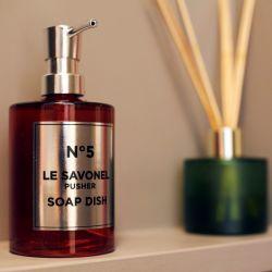 Pompe à Savon Le Savonel | Rouge