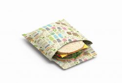 Reusable Sandwich & Snack Bags Set of 2 | Zero Waste