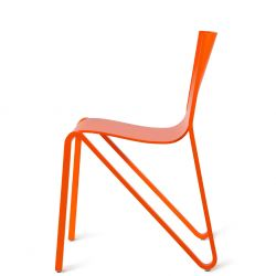 Zesty chair | dark orange