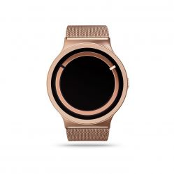 Eclipse Metallic Watch | Rose Gold