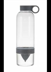 Trinkflasche mit Infusor CitrusZinger | Holzkohle