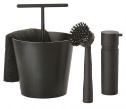 Set Vaiselle Bucket | Noir