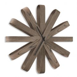 Horloge Murale Ribbonwood | Brun