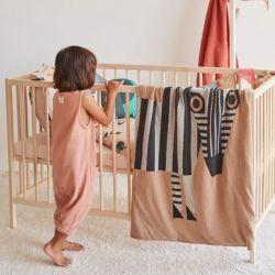 Bettdecke | Zebra