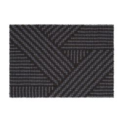 Rug Weave Felt Ball 90 x 130 cm
