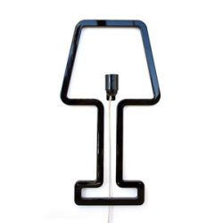 Wall Lamp ColoredShape Black