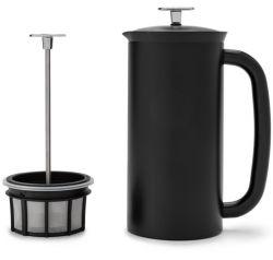 P7 French Press w/ Coffee Filter 550 ml | Matt Black