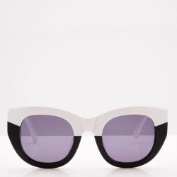 Sunglasses Unisex Pacifia | Black & White