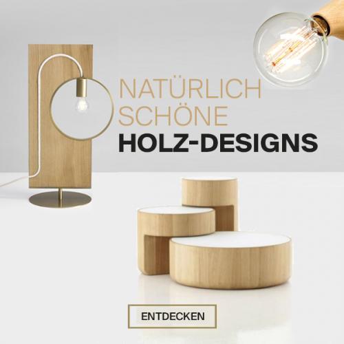 Natürliche Schönheit | Charmante & charakterstarke Holz-Designs