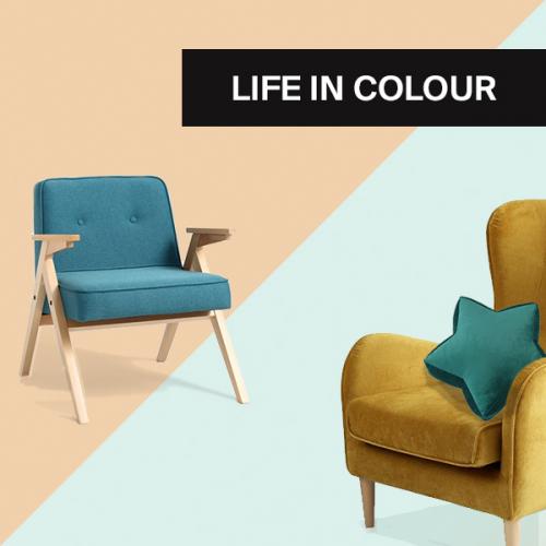 Bring Farbe in dein Leben | Freundliche Wohnräume