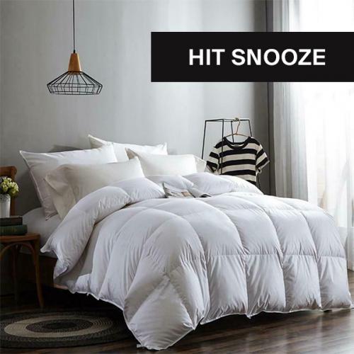 Hit Snooze   Noch eine Mütze voll Schlaf