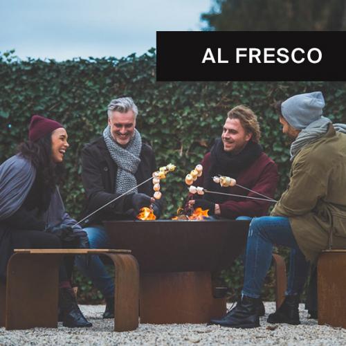 Ab ins Freie | Outdoor-Dinner im Winter