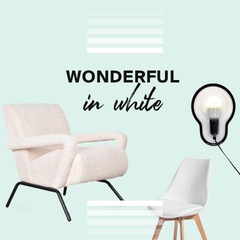 Traum in Weiß | Reines Design in hellen Farbtönen