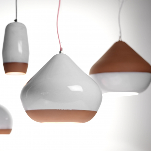 Hand & Eye Studio | Terracotta Lamps