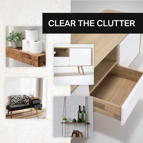 Decluttering | Over 300 storage ideas for all your things