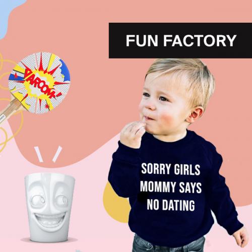 Fun factory | Bringe Fröhlichkeit in dein Zuhause