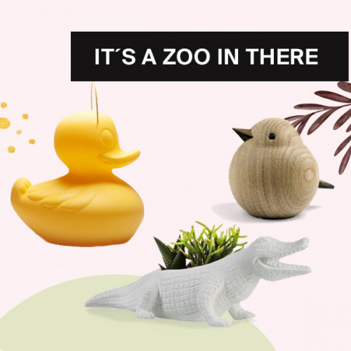 Privater Zoo | Tierische Dekoartikel