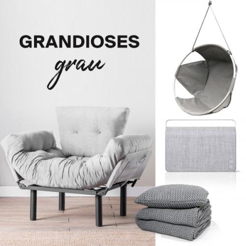Grandioses Grau | Anspruchsvolles Grau für dein Wohndekor