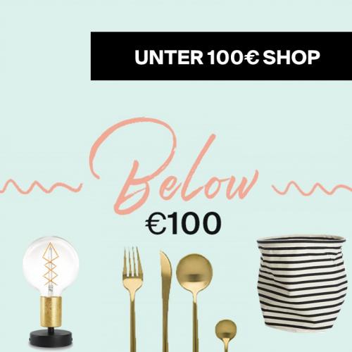 Design für alle | Alles unter 100€