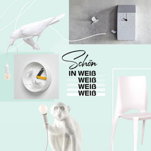 Schön in Weiß | Zeitlose Design-Klassiker