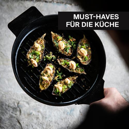 Must-haves für die Küche | Alles zum Kochen und Bewirten