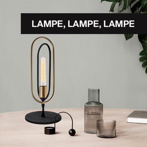 Stimmungsvolle Lichtakzente | Vielfältige Designer-Leuchten für jeden Geschmack