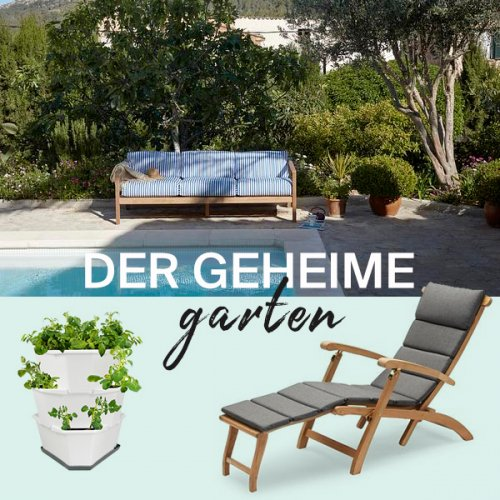 Der geheime Garten |  Grün ist das neue Wohnen