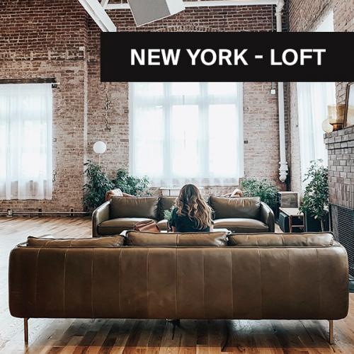 New York-Loft   Wohnen wie im Penthouse, wo immer du bist