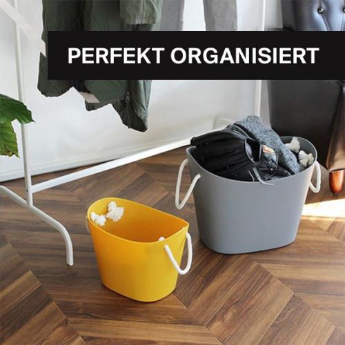 Perfekt organisiert | Bewahre alles wie ein Profi auf