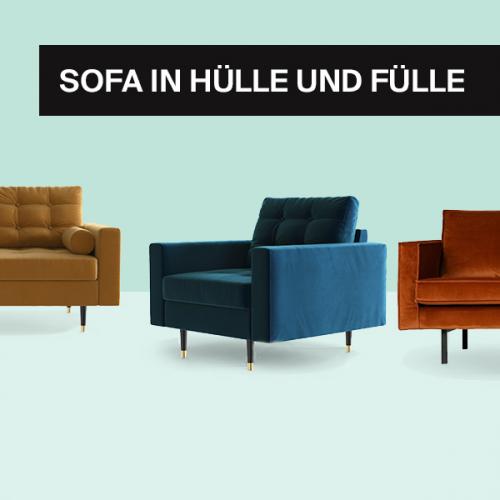 SOFA in Hülle und Fülle | Perfekte Sitzgelegenheiten für jeden Stil