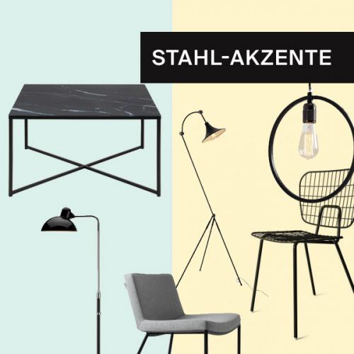 Stahl-Akzente | Industrieller Touch