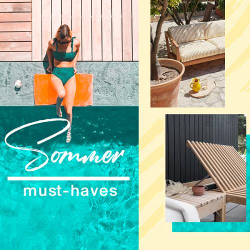 Sommer Must-haves | Alles, damit dieser Sommer dein bisher bester wird