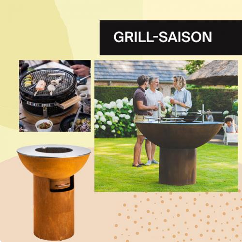 Grill-Saison | Grills die in jedem Garten ein Statement setzen