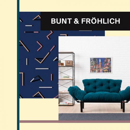 Bunt & fröhlich | Bring Farbe in deine Räume
