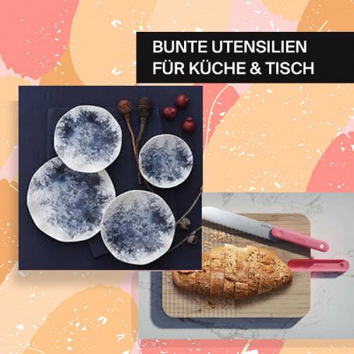 Bunte Tools für Küche & Tisch | Schluss mit eintönigen Mahlzeiten