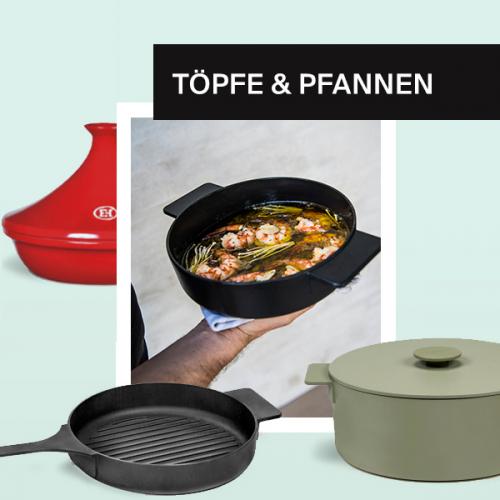 Töpfe & Pfannen | Essentials für deine Küche