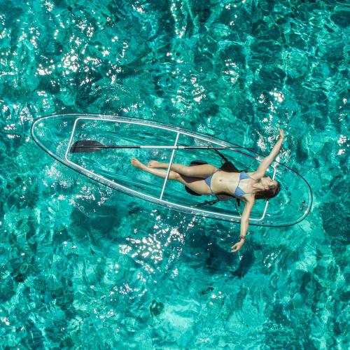 Crystal Kayak | Exploring the Underwater World