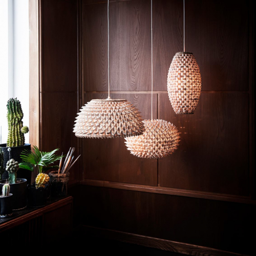 Giving & Living | Natural Palm Leaves Lamps