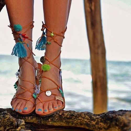 Eleni Athini | Bohemian Sandals